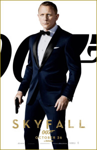 Midnight Blue Tuxedo from James Bond Skyfall