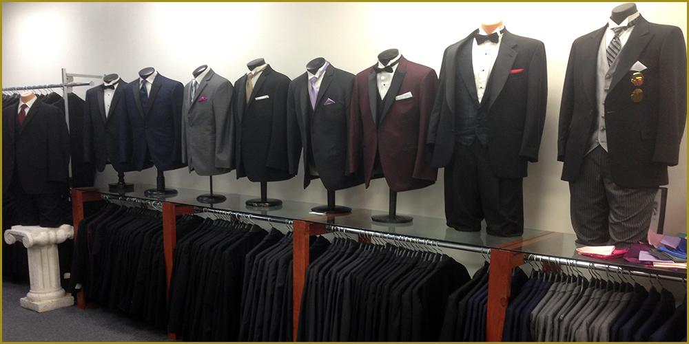Inside Bonaventure Tuxedo of Mineola NY