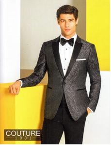 Couture Tuxedo - perfect for Prom Tuxedo Rental
