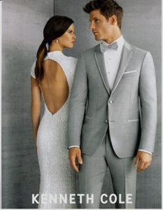 Kenneth Cole Tuxedo - perfect for Prom Tuxedo Rental