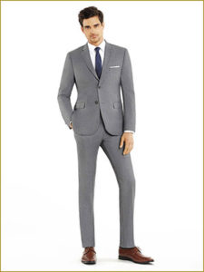 Grey Suit Slim Fit For Rent